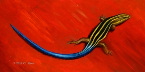 Tale of the Skink - copyright