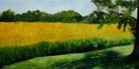 Original oil painting: 18 x 36