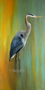 Great Blue - 2016 - 36 x 18 - 800